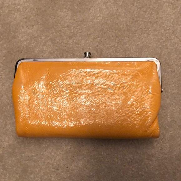 Hobo Bags International Double Frame Patent Clutch Poshmark